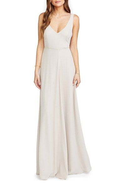 Bridesmaid - Show Me Your Mumu Jen Maxi Gown available at #Nordstrom