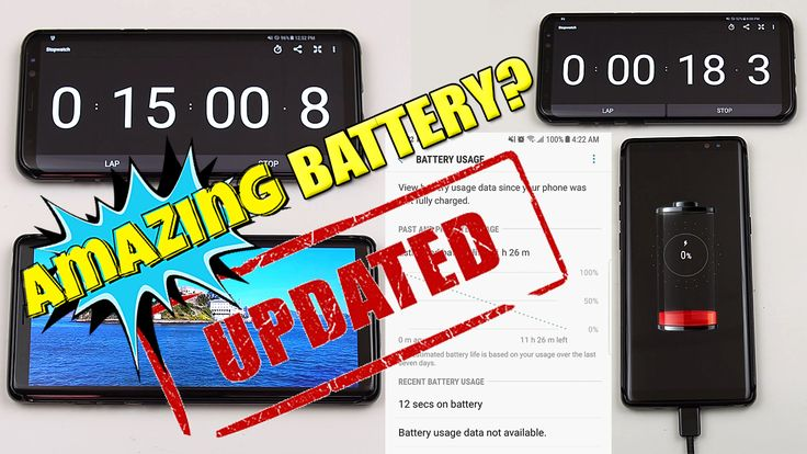 Samsung Note 8 Battery Life Test Review!