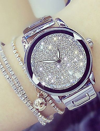 Women's Wrist Watch Japanese Casual Watch Stainless Steel Band Charm / Fashi…