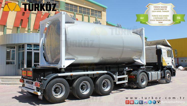 Container Type Food Transportation Tank, Milk Transportation Tanks