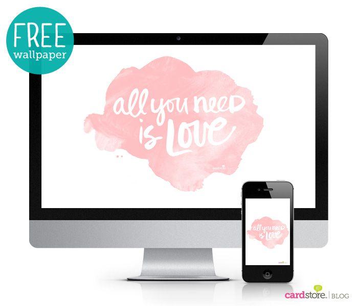 A Love Inspired Lettering Workshop Free Desktop Wallpaper
