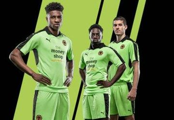 Wolverhampton Wanderers FC 2016/17 PUMA Away Kit
