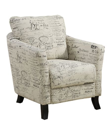 Accent chair from World Wide Furniture!