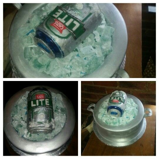 Linda Mcloughlin cake creation. Castle lite birthday cake Themed cake