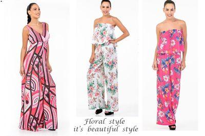 Γυναικεία μόδα by Primadonna : Floral ρούχα για στιλ το καλοκαίρι