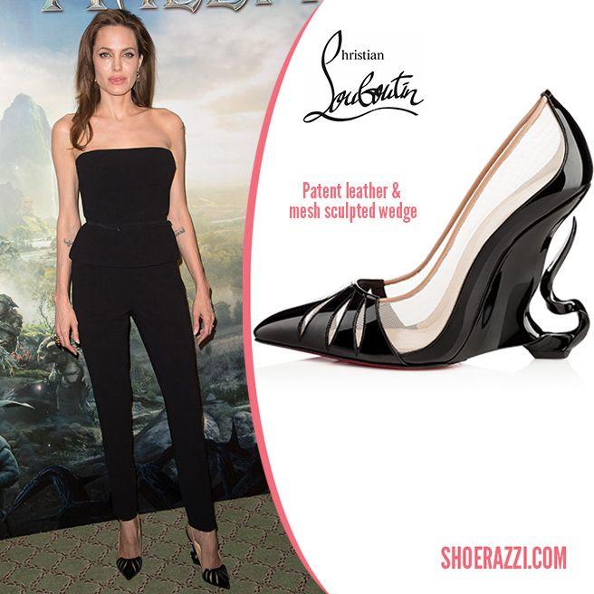 Angelina Jolie Nude Shoes 112