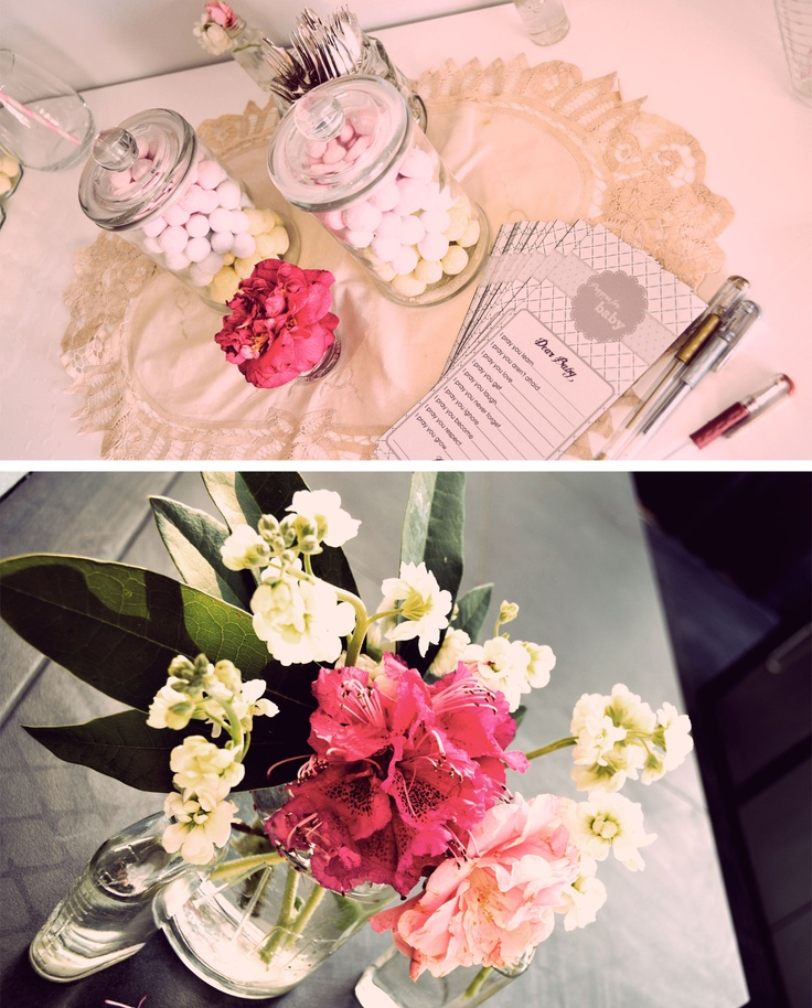 Vintage Tea Party For Baby Shower