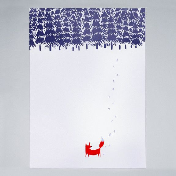 Robert Farkas - Alone In The Forest - Print