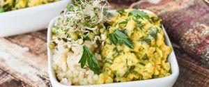 Indian Cauliflower Red Lentil Stew | Garden Fresh Foodie