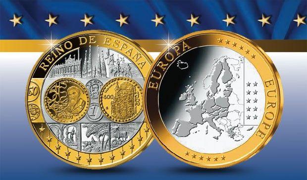 LAS PRIMERAS ACUÑACIONES DE EUROPA  Con la introducción del Euro hace más de 10 años, comenzó un nuevo capítulo de la Historia monetaria europea. Para los coleccionistas constituyó un hecho único y éxito sin precedentes. Hoy las primeras acuñaciones en oro de los países de la zona Euro son consideradas como piezas legendarias. Los puntos más destacados de la historia del euro pueden ser ahora recordados con las Primeras acuñaciones de los países del Euro.