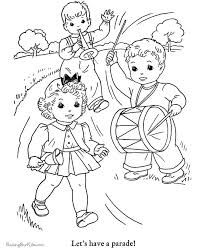 coloring pages july - Google Search