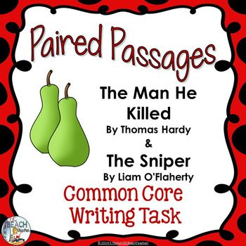 best the sniper images the sniper short stories  common core writing task the man he killed the sniper