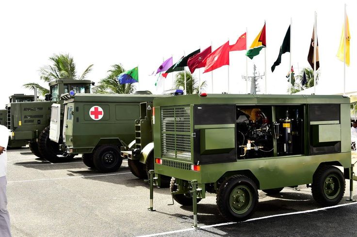 Chinese Army donates military equipment to GDF