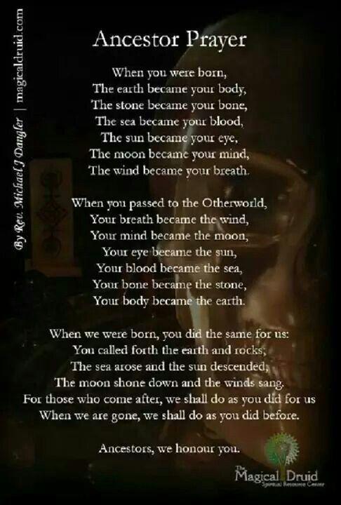 Samain Ancestor Prayer For By Rev Michael J Dangler An ADF Senior Priest And Co Owner Of The Magical Druid