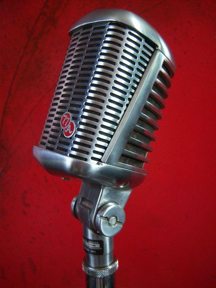 Best 25 Vintage Microphone Ideas On Pinterest Music