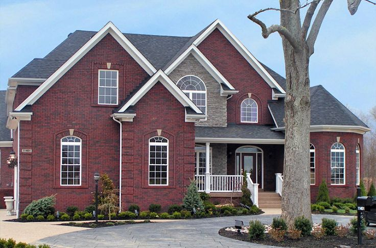 271 Best Brick Houses Images On Pinterest Brick Homes