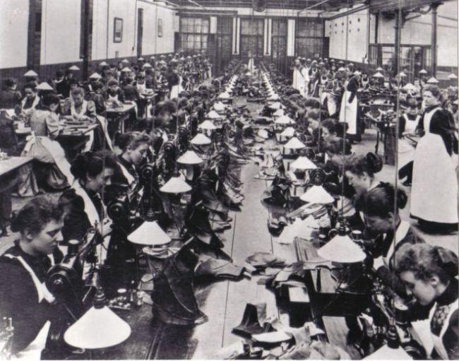 Manfields Shoe Factory c1900