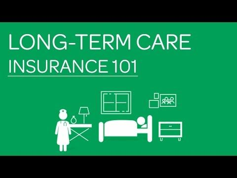 Long-Term Care Insurance 101 - YouTube