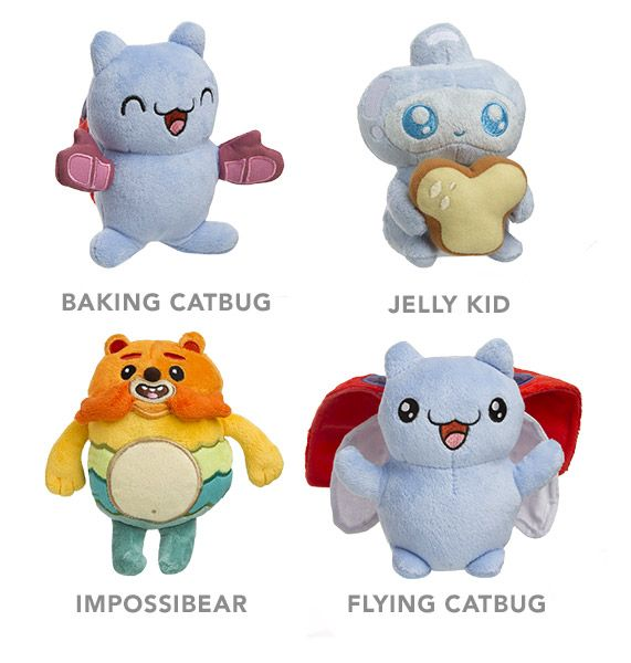ThinkGeek Bravest Warriors Plush Catbug Is The Bestest