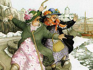 Веселые бабушки от Inge Look   Ярмарка Мастеров - ручная работа, handmade