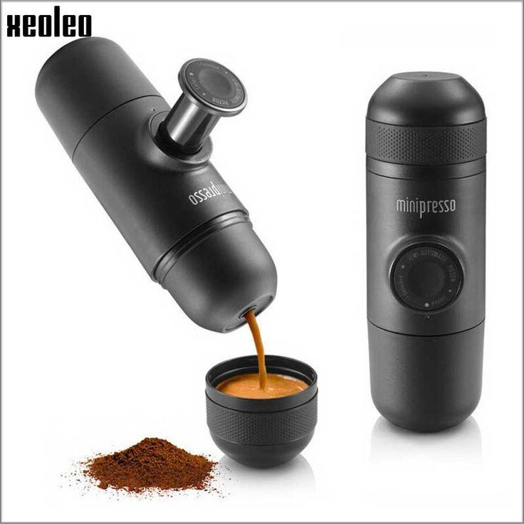 Xeoleo Wacaco Minipresso Coffee maker Handpresse Espresso Coffee machine Manual Espresso machine Portable travel Coffee Powder