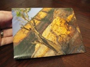 DIY envelopes out of old calendar pages