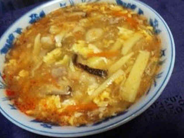 酸辣湯麺(スーラータンメン)の画像