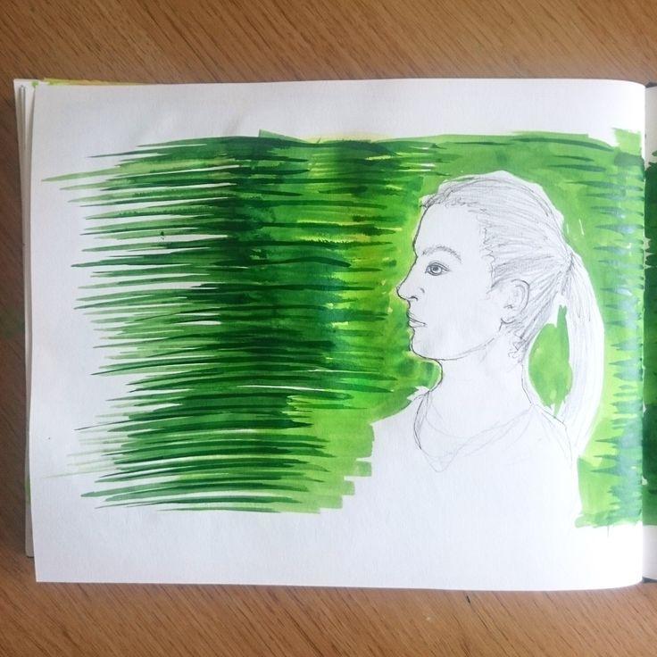 Day 19 28 Drawings Later Sketchbook Challenge by Jo Degenhart