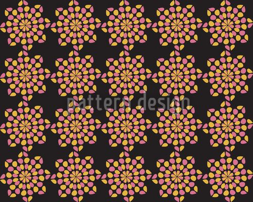 Black Dotty created by Ivana Kralova offered as a vector file on patterndesigns.com