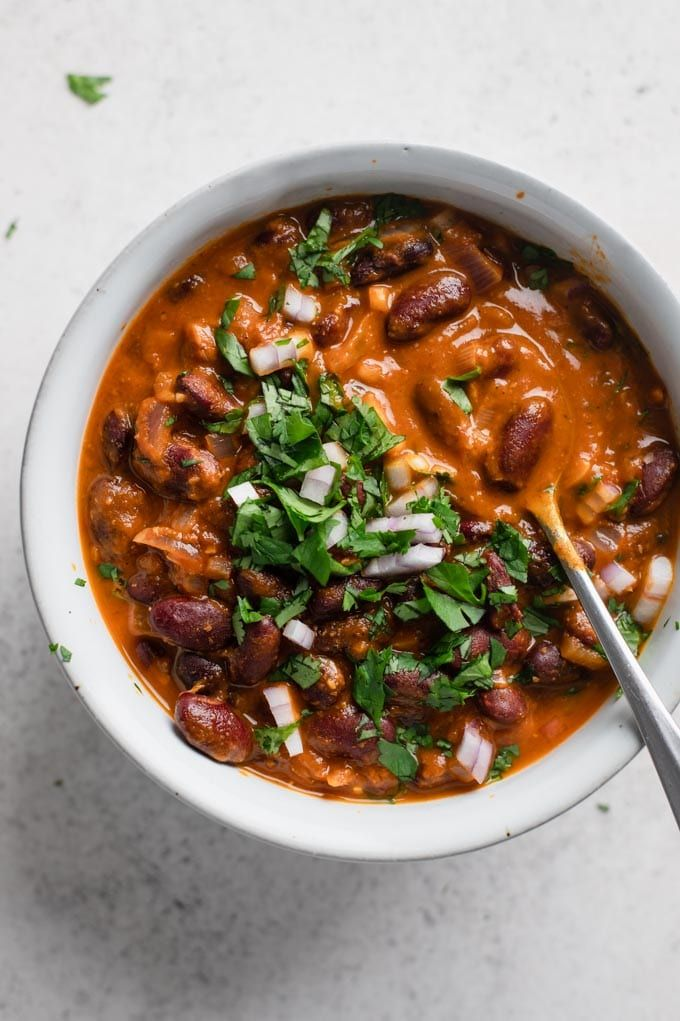 Afghan Kidney Bean Curry Lubya Recipe In 2020 Recipes With Kidney Beans Vegetarian Recipes Beans Curry