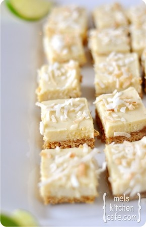 Key Lime Bars with Animal Cookie Crust!