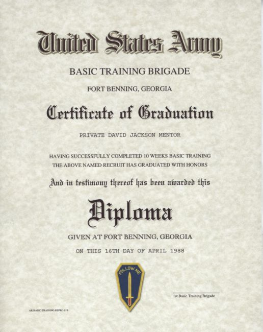 military certificate of appreciation template – Army Certificate of Appreciation Template
