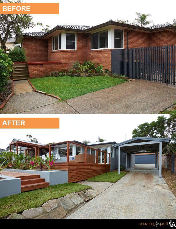 #facade #outdoor #renovation For more exciting renovation ideas visit www.renovatingforprofit.com.au