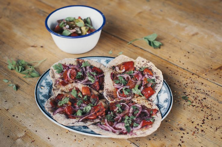 It's Organic September, so why not try your hand at chef Anna Jones' sizzling pan-fried Turkish flatbread? Get the delicious recipe here.