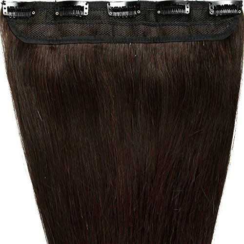 "S-noilite® 18"" 50g Dark Brown One Piece Clip in 100% Real Remy Human Hair Extensions 5 Clips 18 Inches US Fashion Outlet http://www.amazon.com/dp/B012SN4C1Y/ref=cm_sw_r_pi_dp_k3gBwb13EK2MY"