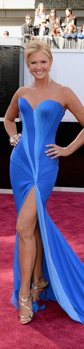 Nancy O'Dell 2013 Oscar Red Carpet - Mark Zunino