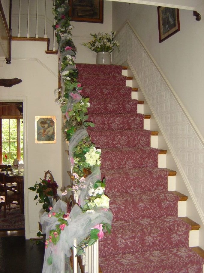 The 25 Best Wedding Staircase Decoration Ideas On Pinterest