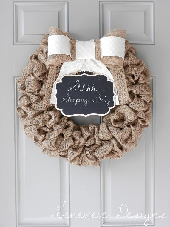 Baby boy wreath for front door its a boy sign hospital for Baby hospital door decoration