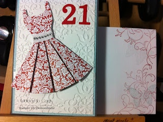 Addicted to Cards: 21st Birthday cards