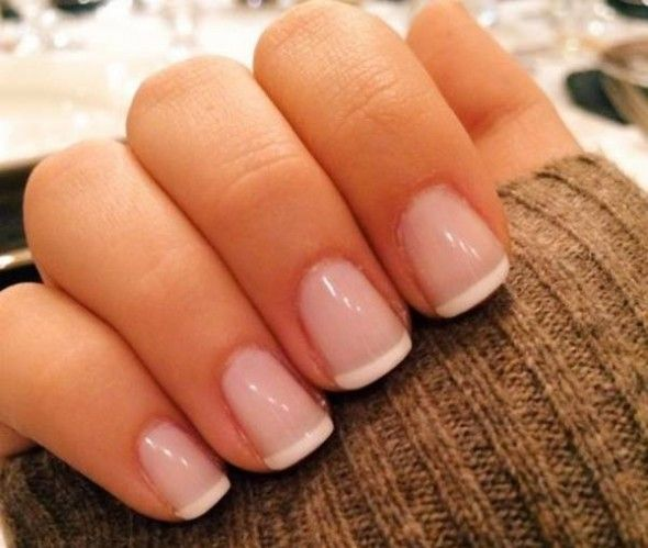 French Manicure #Nail # Nail Designs