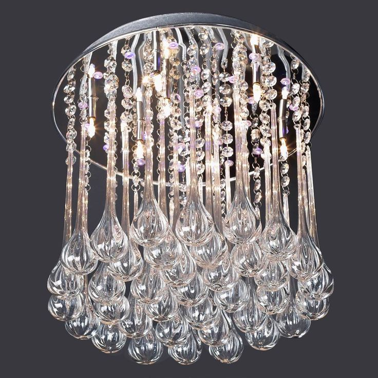 30 best small crystal chandeliers images on pinterest crystal falling drops small crystal chandelier mozeypictures Gallery