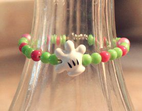 cute way to use some of the collectible beads we buy at the park