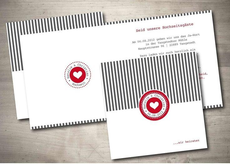 22 best einladungskarten zur hochzeit images on pinterest, Einladungsentwurf