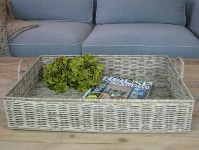 Rattan tray new for 2014