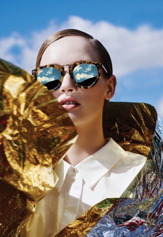 Karen Walker's new Superstars sunglass range   Good Magazine