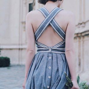 The back of this dress...