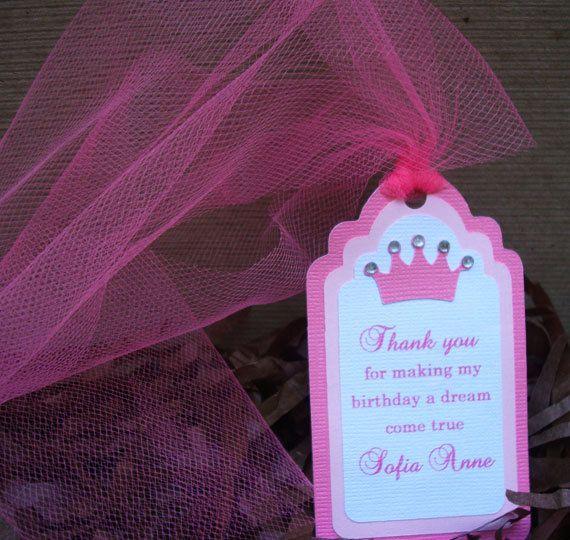 Corona rosa hecha a mano de princesa real por forLittleSmiles