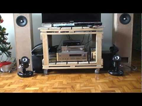 Pipe Speaker by Valpereiro - YouTube