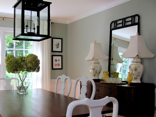 Renes Gorgeous Soothing Dining Room