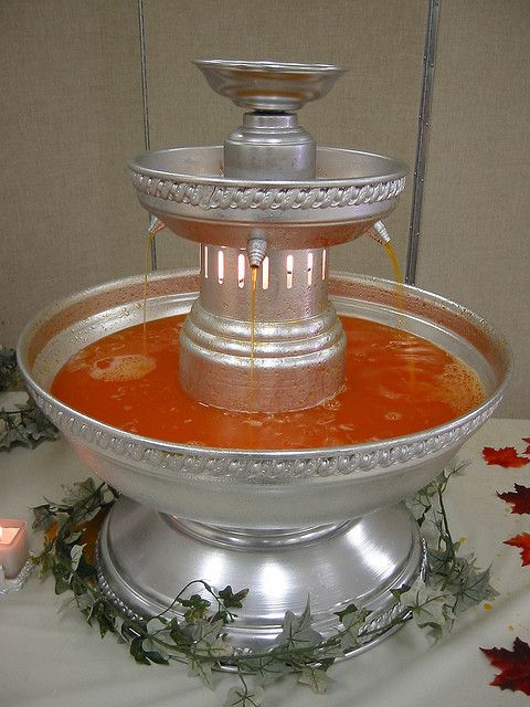 Recipe For Red Wedding Punch To Be Used In Fountain